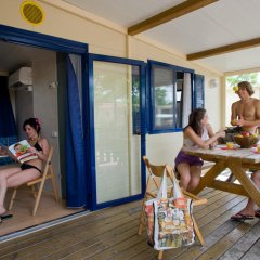 Отель Camping Village Roma Шале с различными типами кроватей фото 5