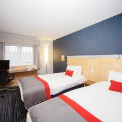 Отель Holiday Inn Express Edinburgh Royal Mile Эдинбург комната для гостей фото 4