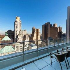 Отель West 57th Street by Hilton Club США, Нью-Йорк - отзывы, цены и фото номеров - забронировать отель West 57th Street by Hilton Club онлайн балкон