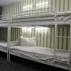 Хостел Ника-Сити Кровати в общем номере с двухъярусными кроватями фото 11