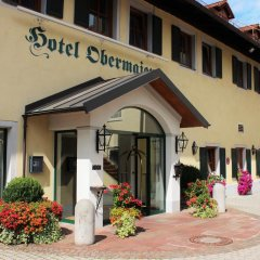 Hotel Obermaier вид на фасад фото 2