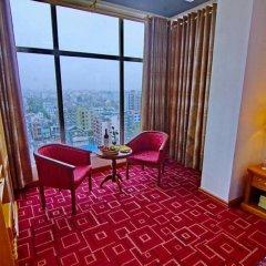 Myat Nan Yone Hotel 3* Семейный люкс с двуспальной кроватью фото 2