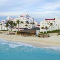 Отель GR Caribe Deluxe By Solaris - Все включено Мексика, Канкун - 8 отзывов об отеле, цены и фото номеров - забронировать отель GR Caribe Deluxe By Solaris - Все включено онлайн пляж фото 3