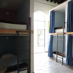 Capsule Hostel Mexico City Кровать в общем номере фото 7