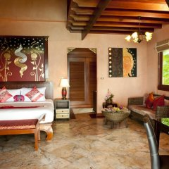 Отель Sandalwood Luxury Villas 5* Вилла с различными типами кроватей фото 7
