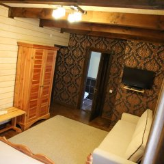 Гостиница Лесная Усадьба Стандартный номер двуспальная кровать фото 11