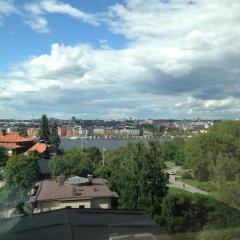 Отель LUNDA Стокгольм балкон