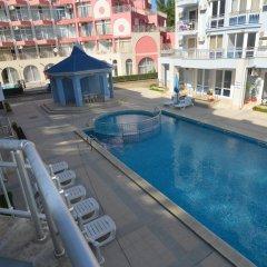 Отель Sunny Dream Apartments Болгария, Солнечный берег - отзывы, цены и фото номеров - забронировать отель Sunny Dream Apartments онлайн бассейн фото 3