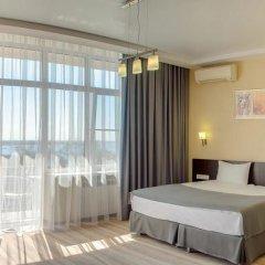 Гостиница Старт Номер Премиум двуспальная кровать фото 16