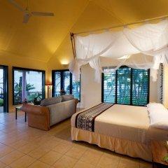 Отель Fiji Hideaway Resort and Spa 3* Бунгало с различными типами кроватей фото 3