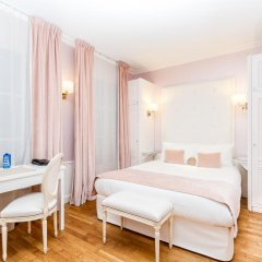 Отель Eiffel Trocadéro 4* Улучшенный номер с различными типами кроватей фото 3