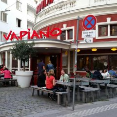 Отель Goldfisch Vienna City Apartments Австрия, Вена - отзывы, цены и фото номеров - забронировать отель Goldfisch Vienna City Apartments онлайн питание фото 2