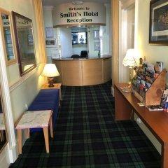 Smiths Hotel Глазго интерьер отеля фото 2