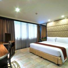 Отель Grand President Bangkok 4* Студия Делюкс с различными типами кроватей фото 2