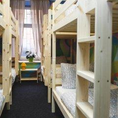 Art Hostel Contrast Кровать в мужском общем номере с двухъярусной кроватью фото 3