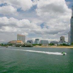 Отель Seaside Twins Momochi Фукуока пляж