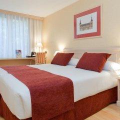 Отель Senator Castellana (I) 3* Стандартный номер с двуспальной кроватью фото 12
