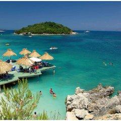 Отель Villa Marku Soanna Албания, Ксамил - отзывы, цены и фото номеров - забронировать отель Villa Marku Soanna онлайн пляж фото 2