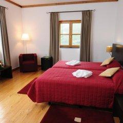 INATEL Piódão Hotel 4* Улучшенный номер двуспальная кровать фото 6