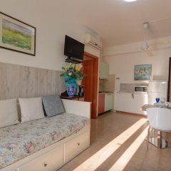 Отель Il Conero Mare Residence Нумана комната для гостей
