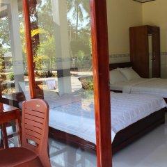 Отель Hoa Nhat Lan Bungalow 2* Стандартный номер с различными типами кроватей