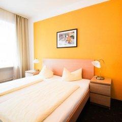 Отель Pension/Guesthouse am Hauptbahnhof Стандартный номер с двуспальной кроватью (общая ванная комната) фото 33