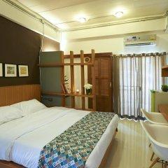 Отель Euanjitt Chill House 3* Улучшенный номер с различными типами кроватей фото 3
