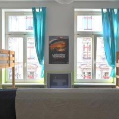 Отель Oskars Absteige Кровать в общем номере с двухъярусной кроватью фото 5