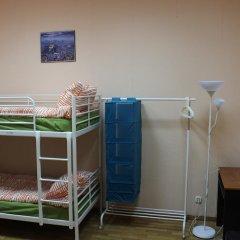 Гостиница Аэрохостел Кровать в общем номере с двухъярусными кроватями фото 8