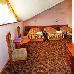 Гостиница Пансионат Золотая линия 3* Стандартный семейный номер с двуспальной кроватью фото 3
