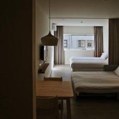 Hotel Spot Family Suites 4* Улучшенная студия разные типы кроватей фото 12
