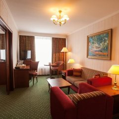 Гостиница Корстон, Москва 4* Улучшенный люкс с разными типами кроватей фото 3