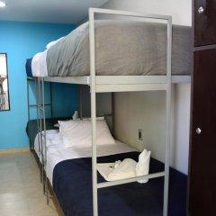 Отель Hostal Be Condesa Кровать в общем номере фото 2