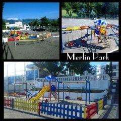 Отель Merlin Park Resort Тирана детские мероприятия фото 2