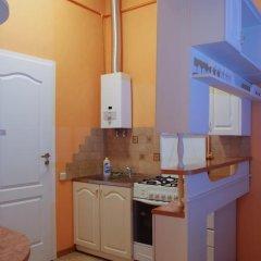 Апартаменты Central Apartments Львов Студия разные типы кроватей фото 8