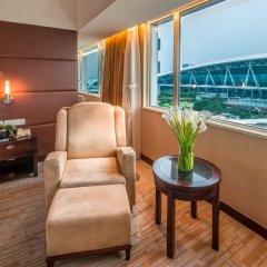 Отель Pullman Guangzhou Baiyun Airport 5* Улучшенный номер с различными типами кроватей фото 3