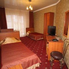 Гостиница Плаза 4* Номер Делюкс разные типы кроватей фото 3