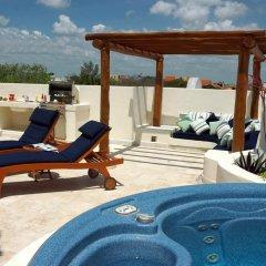 Отель Porto Playa Condo Hotel & Beachclub Мексика, Плая-дель-Кармен - отзывы, цены и фото номеров - забронировать отель Porto Playa Condo Hotel & Beachclub онлайн бассейн фото 3