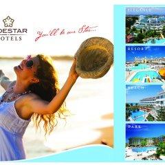 Side Star Resort Турция, Сиде - отзывы, цены и фото номеров - забронировать отель Side Star Resort онлайн фитнесс-зал
