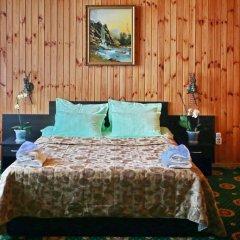 Гостиница Снежный барс Домбай комната для гостей фото 2