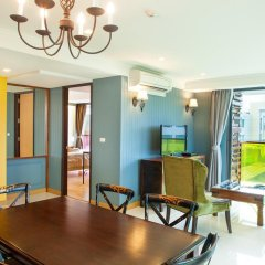 Отель Rocco Huahin Condominium Апартаменты с 2 отдельными кроватями фото 4