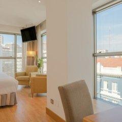 Отель Hesperia A Coruña Centro 4* Стандартный номер с различными типами кроватей фото 3