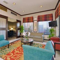 Отель Holiday Inn Express Kennedy Airport США, Нью-Йорк - 2 отзыва об отеле, цены и фото номеров - забронировать отель Holiday Inn Express Kennedy Airport онлайн комната для гостей фото 3