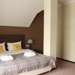 Гостиница Горная Резиденция АпартОтель Люкс с двуспальной кроватью фото 2