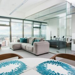 Отель Apartamenty Sky Tower Студия с различными типами кроватей фото 5