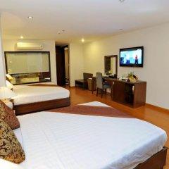 Hanoi Golden Hotel 3* Семейный люкс с двуспальной кроватью фото 5