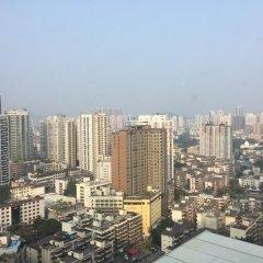 Апартаменты Shenzhen Grace Apartment балкон