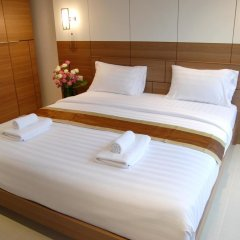 Отель I Am Residence 3* Улучшенные апартаменты с двуспальной кроватью фото 11