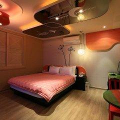 Haeundae Grimm Hotel 2* Номер Делюкс с различными типами кроватей фото 40