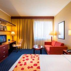 Отель Courtyard by Marriott Prague City 4* Стандартный номер разные типы кроватей фото 3